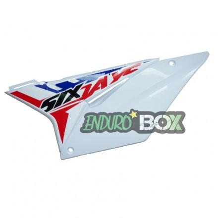 Plaque latérale Gauche SHERCO Blanche Six Days 2018 Enduro Box