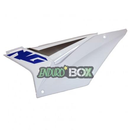 Plaque latérale Gauche SHERCO Blanche Enduro Box
