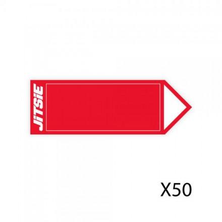 50 Fleches JITSIE Rouges Enduro Box