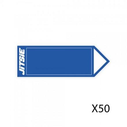 50 Fleches JITSIE Bleues Enduro Box