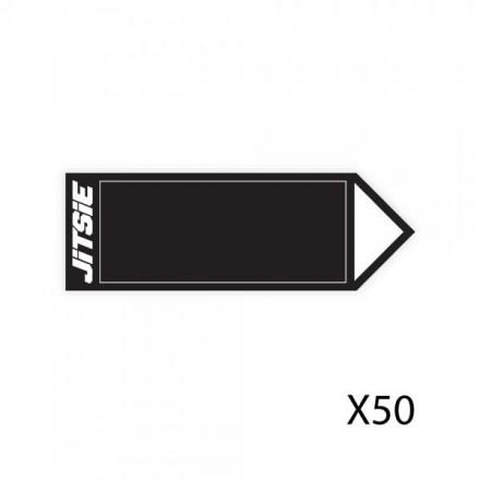 50 Fleches JITSIE Noires Enduro Box