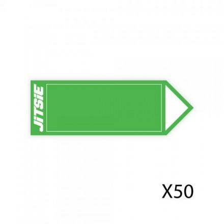 50 Fleches JITSIE Vertes Enduro Box