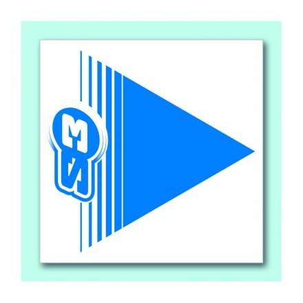 50 Flèches S3 Bleues Enduro Box