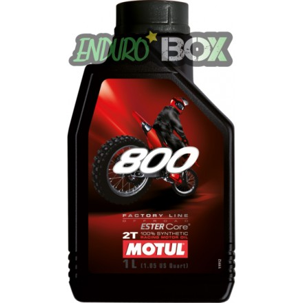 800 2T Factory Line Off Road MOTUL Enduro Box