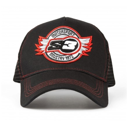 Casquette S3 Trucker Rouge Enduro Box