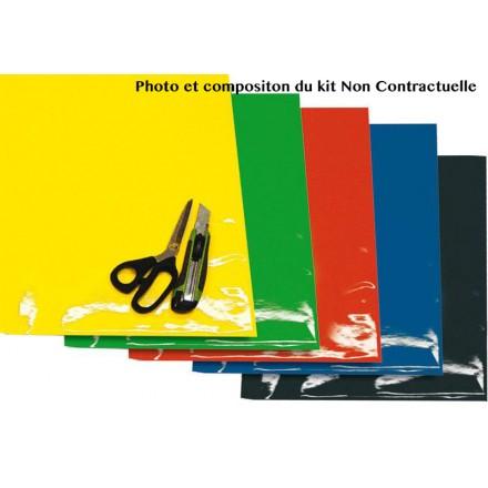 Planches Adhesifs CRYSTALL Enduro Box