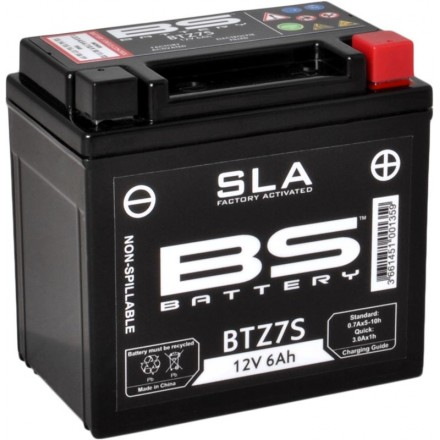 Batterie BS-BATTERY SLA YTZ7S Enduro Box