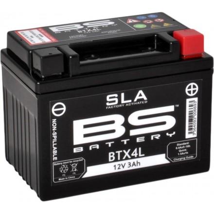Batterie BS-BATTERY SLA YTX4L-BS Enduro Box