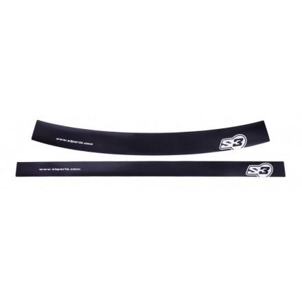 Autocollants de Jantes S3 Noirs Enduro Box