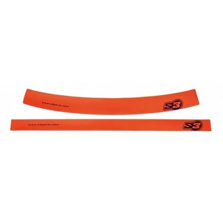 Autocollants de Jantes S3 Oranges Enduro Box