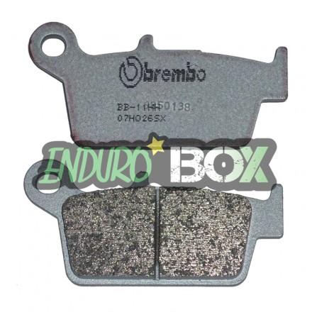 Plaquettes de Frein Avant BREMBO 07HO26SX Enduro Box