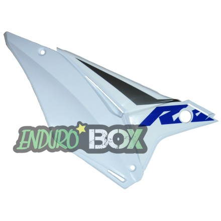 Plaque latérale Droite SHERCO Blanche Enduro Box