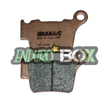 Plaquettes de Frein Arrière BRAKING Competition Enduro Box