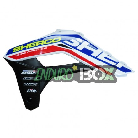 Protection Ouie de Radiateur Droite SHERCO 2018 Six Days Enduro Box