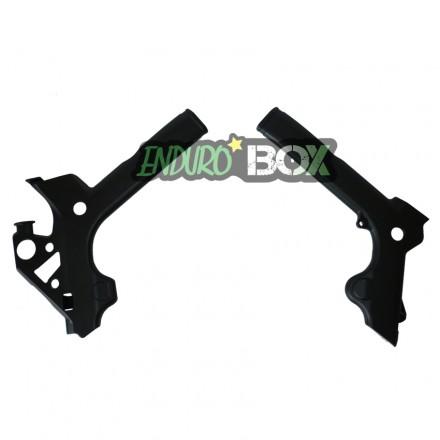 Protections de Cadre GASGAS Noires 2018 Enduro Box