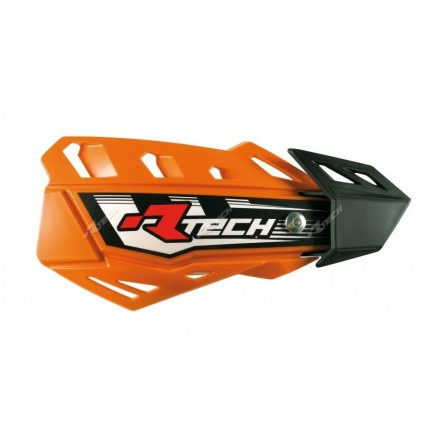 Protege Mains RACETECH Oranges FLX Enduro Box