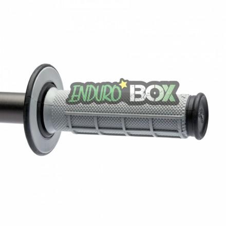 Revêtements RENTHAL Dual Grip Gris/Noir Enduro Box
