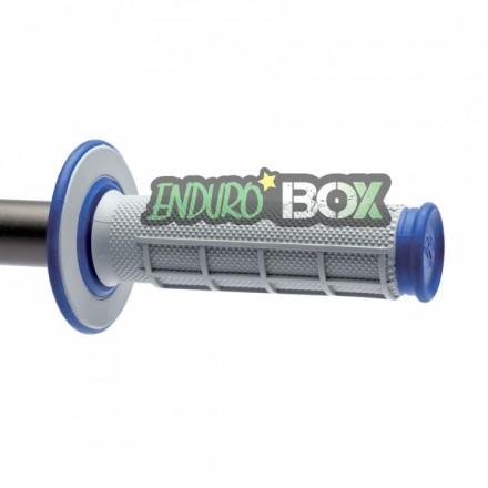 Revêtements RENTHAL Dual Grip Gris/Bleu Enduro Box