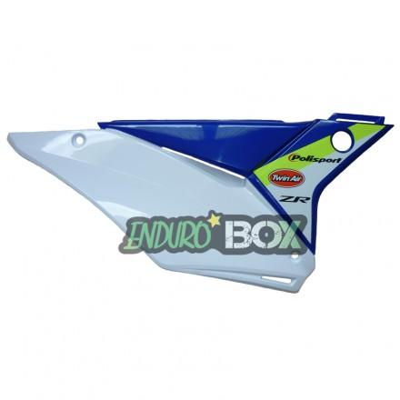 Plaque latérale Droite SHERCO Factory 2018 Blanche Enduro Box