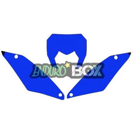 Fond de Plaques Sherco BLACKBIRD 17-Auj Enduro Box