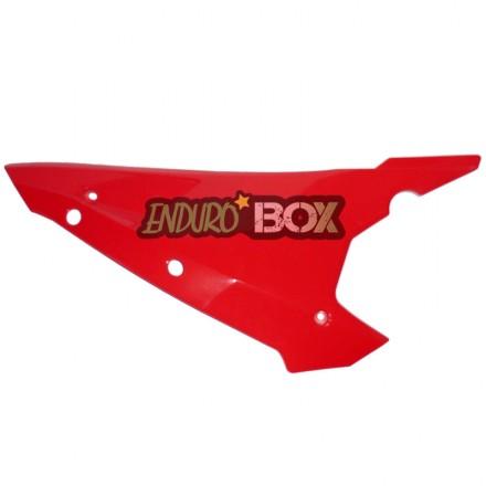 Plaque Latérale Droite GASGAS Rouge Enduro Box