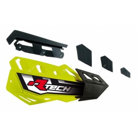Coque de Rechange RACETECH Jaune Fluo FLX Enduro Box