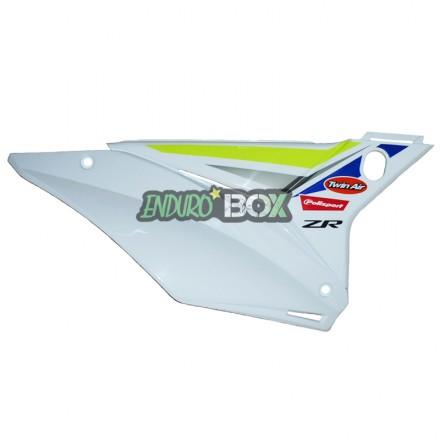 Plaque latérale Droite SHERCO Factory 2019 Blanche Enduro Box