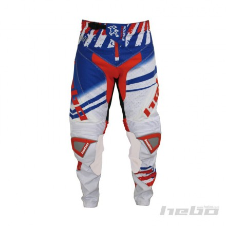 Pantalon HEBO Stratos Blanc Enduro Box