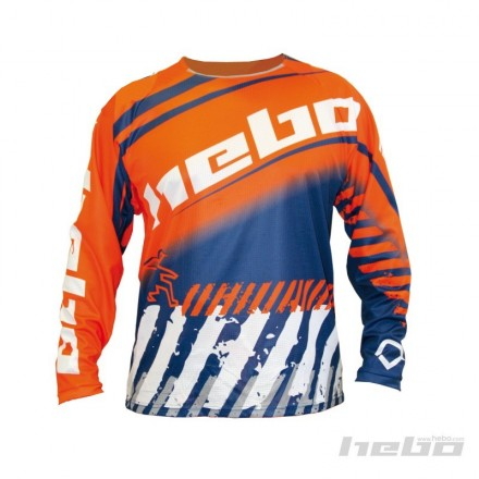 Maillot HEBO Stratos Orange Enduro Box