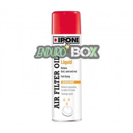 Air Filter Oil Liquid IPONE Enduro Box