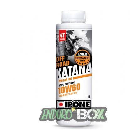 Katana Off Road 10W60 IPONE 1L Enduro Box