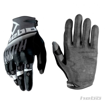 Gants HEBO Stratos Gris Enduro Box