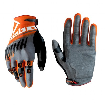 Gants HEBO Stratos Oranges Enduro Box
