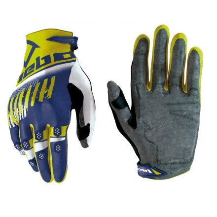 Gants HEBO Stratos Jaune Fluo Enduro Box