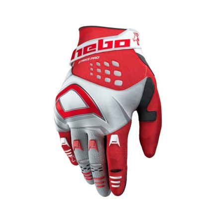 Gants HEBO Strike Rouges Enduro Box