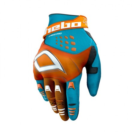 Gants HEBO Strike Oranges Enduro Box