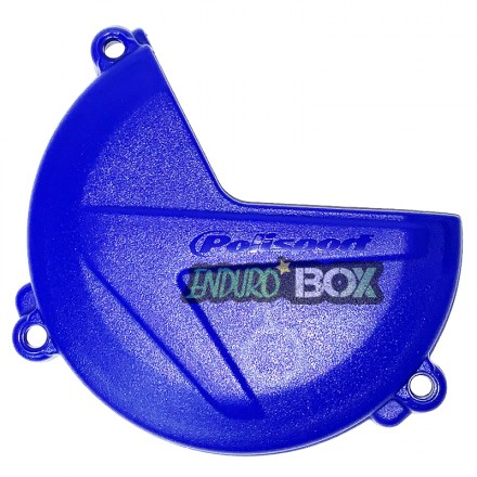 Protection Carter Embrayage POLISPORT Bleu Sherco Enduro Box
