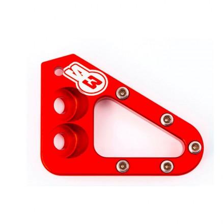 Embout Pédale de Frein S3 HardRock Beta/GasGas/Sherco Rouge Enduro Box
