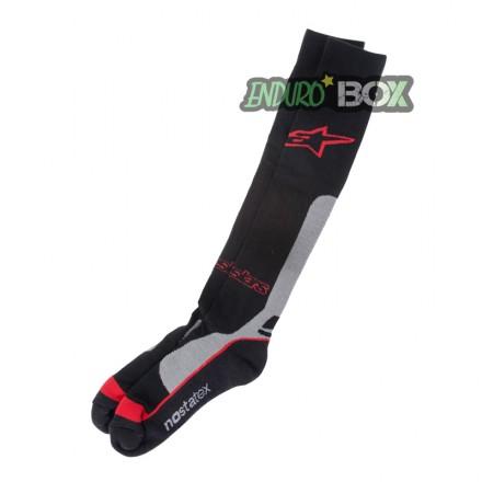 Chaussettes ALPINESTARS Pro CoolMax Rouge Enduro Box