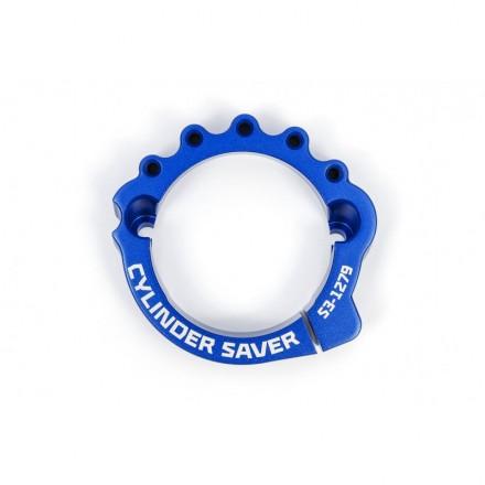 Protection Sortie de Cylindre/Echappement Bleue S3 KTM/Husqvarna 17-Auj Enduro Box