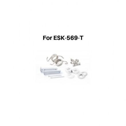 Kit Axe Complet Repose Pieds Enduro S3 HardRock Acier Trempé Enduro Box