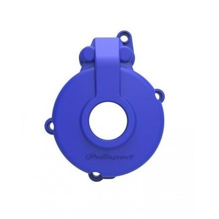 Protection Carter Allumage POLISPORT Bleu Sherco 4Temps Enduro Box