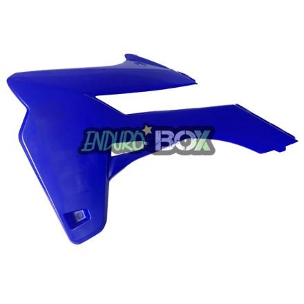 Protection Ouie de Radiateur Gauche Bleue SHERCO 13-16 Enduro Box