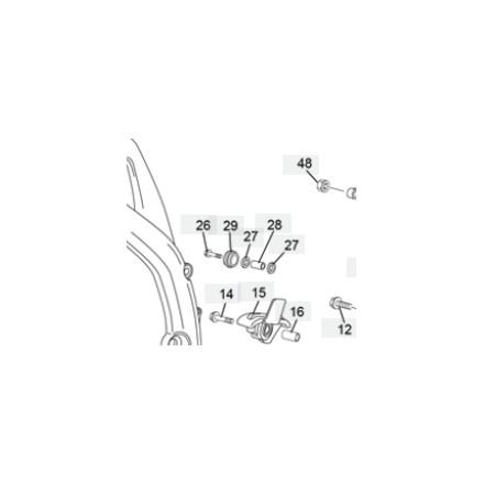 Roulement Galet de Chaine SHERCO 06-Auj Enduro Box