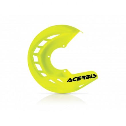 Protection de Disque ACERBIS X-Brake Jaune Fluo Enduro Box