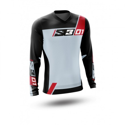 Maillot S3 Collection 01 Gris Enduro Box