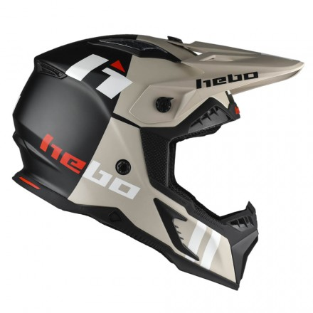 Casque HEBO Heritage Matt Enduro Box