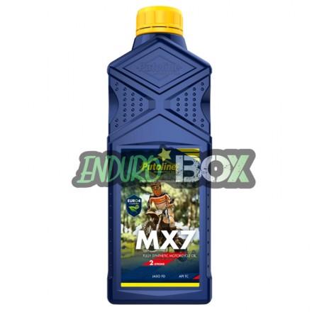 Huile de Mélange PUTOLINE MX7 Enduro Box