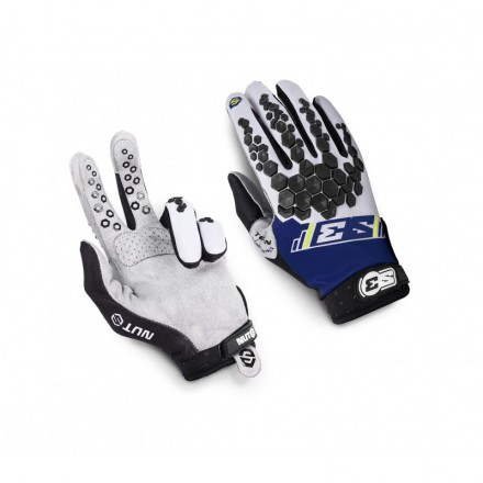 Gants S3 Nuts Hard Enduro Bleus Enduro Box