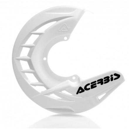 Protection de Disque ACERBIS X-Brake Blanche Enduro Box